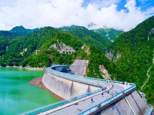 黒部ダムの写真素材 [FYI01211999]