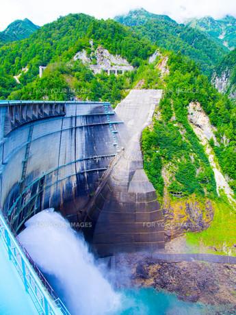 黒部ダムの写真素材 [FYI01212002]