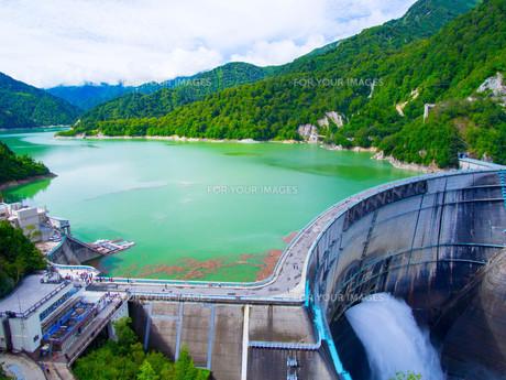 黒部ダムの写真素材 [FYI01212004]