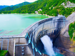 黒部ダムの写真素材 [FYI01212015]