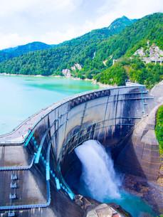 黒部ダムの写真素材 [FYI01212027]
