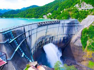 黒部ダムの写真素材 [FYI01212044]