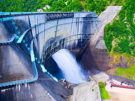黒部ダムの写真素材 [FYI01212052]