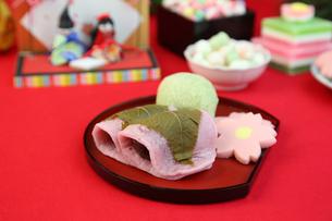 桜餅の写真素材 [FYI01212268]