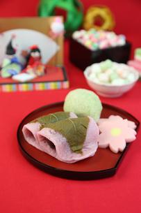 桜餅の写真素材 [FYI01212269]