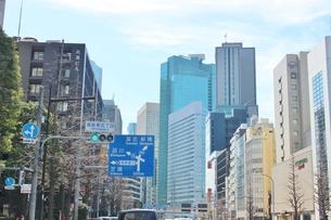 都心 東京駅界隈の写真素材 [FYI01212519]