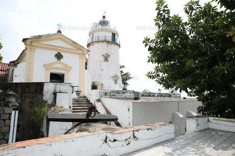 ギア要塞の灯台の写真素材 [FYI01212638]