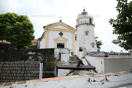 ギア要塞の灯台の写真素材 [FYI01212639]