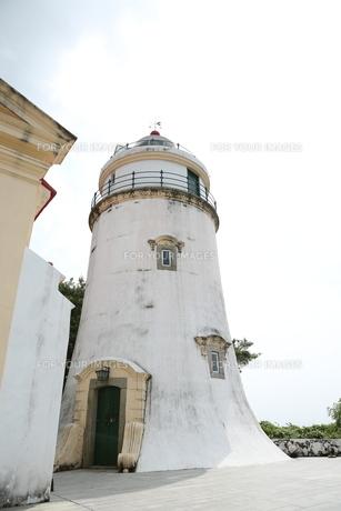 ギア要塞の灯台の写真素材 [FYI01212642]