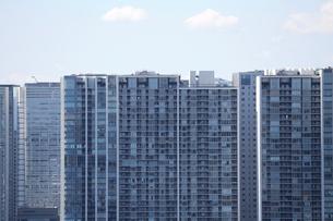 東京臨海部の高層マンションの写真素材 [FYI01212719]