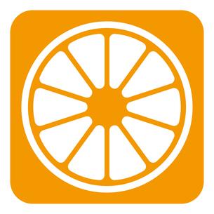オレンジ アイコンのイラスト素材 [FYI01212949]