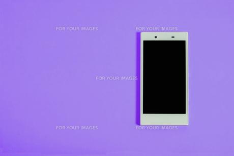 スマートフォン シンプルコレクション カラーバリエーションの写真素材 [FYI01212972]