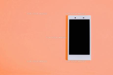 スマートフォン シンプルコレクション カラーバリエーションの写真素材 [FYI01212975]
