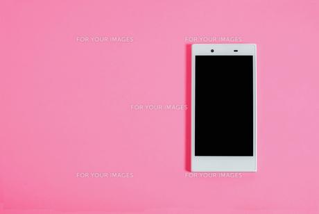 スマートフォン シンプルコレクション カラーバリエーションの写真素材 [FYI01212976]