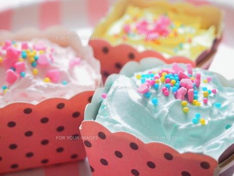 カップケーキの写真素材 [FYI01213261]