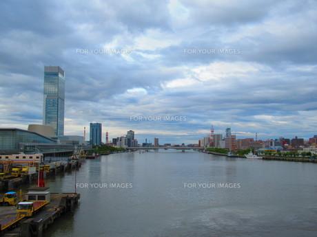 港街の写真素材 [FYI01213325]