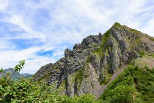 岩山の鋭さの写真素材 [FYI01213538]
