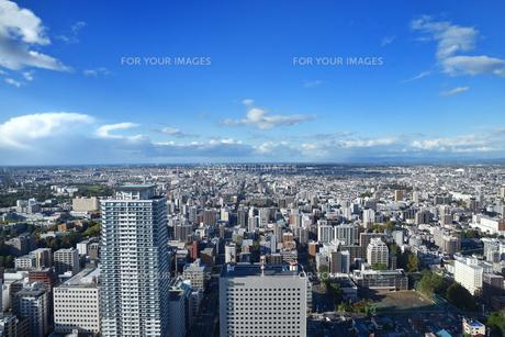 札幌の街並みの写真素材 [FYI01213806]