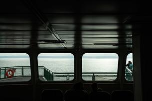 フェリーからみた風景の写真素材 [FYI01213826]