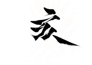 亥年 亥 イノシシ 筆文字 書道 書家 毛筆 干支のイラスト素材 [FYI01213882]