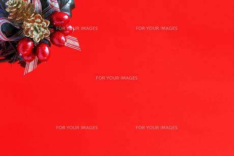 クリスマス用の背景素材の写真素材 [FYI01214122]