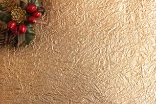 クリスマス用の背景素材の写真素材 [FYI01214125]