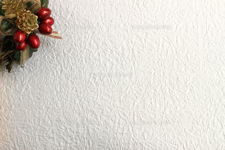 クリスマス用の背景素材の写真素材 [FYI01214129]