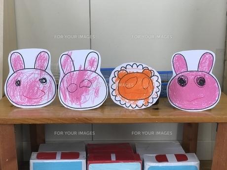 幼稚園 作品の写真素材 [FYI01214229]
