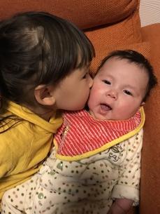 姉妹の写真素材 [FYI01214232]