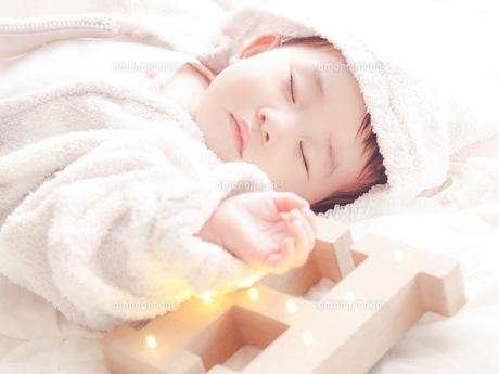 深い眠りの写真素材 [FYI01214297]