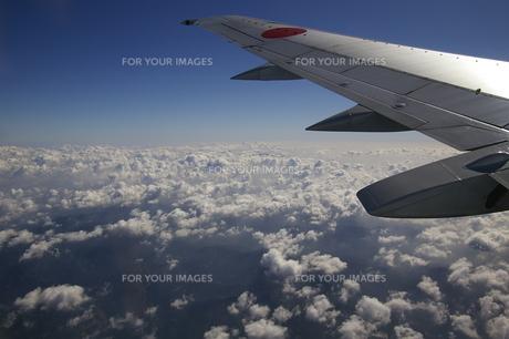 飛行機から見た空の写真素材 [FYI01214474]