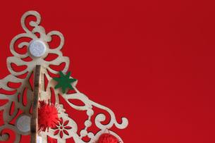 クリスマス用の背景素材の写真素材 [FYI01214521]