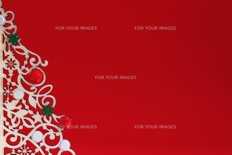 クリスマス用の背景素材の写真素材 [FYI01214524]