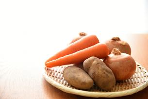 野菜3種類の写真素材 [FYI01214545]
