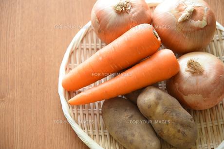 野菜3種類の写真素材 [FYI01214546]