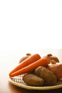 野菜3種類の写真素材 [FYI01214547]