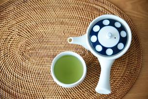 緑茶の写真素材 [FYI01214549]