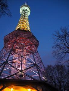 プラハのペトシーン展望塔の写真素材 [FYI01214710]