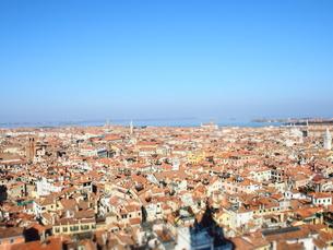 ヴェネツィア、サンマルコの鐘楼からの景色の写真素材 [FYI01214718]