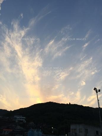 夕焼け空の写真素材 [FYI01214785]