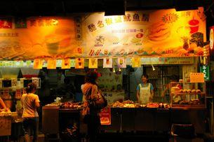 香港の屋台の写真素材 [FYI01214797]