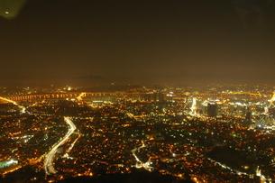 ソウルタワーから見える夜景の写真素材 [FYI01214805]