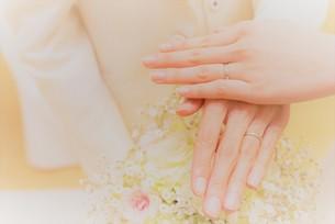 誓いの指輪の写真素材 [FYI01214818]