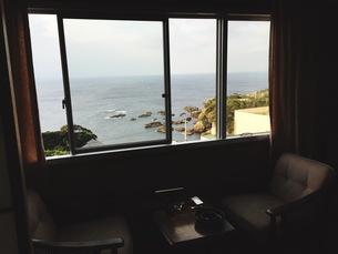 海の見える家の写真素材 [FYI01214855]