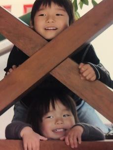 兄弟の写真素材 [FYI01214984]