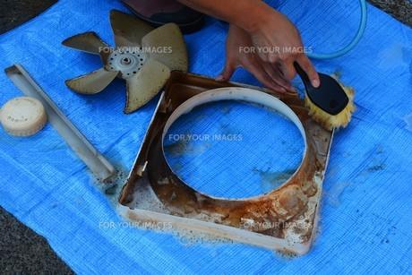 換気扇清掃・ハウスクリーニングの写真素材 [FYI01215054]