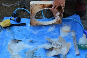 換気扇清掃・ハウスクリーニングの写真素材 [FYI01215056]