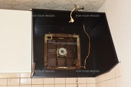 換気扇清掃・ハウスクリーニングの写真素材 [FYI01215057]