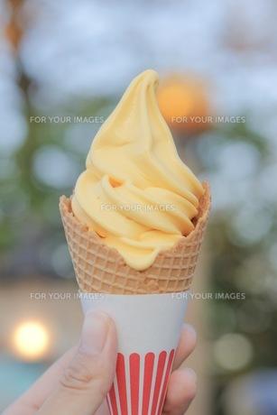 ソフトクリームの写真素材 [FYI01215062]