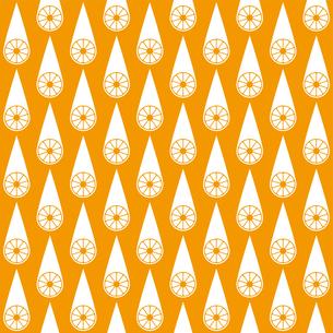 オレンジ パターンのイラスト素材 [FYI01215073]